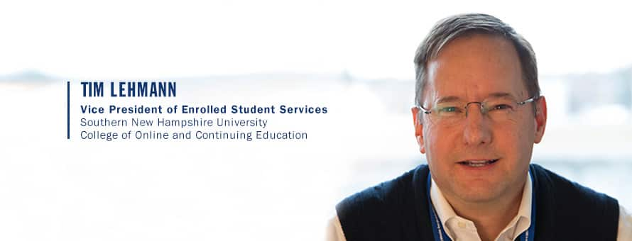 Vice President of Enrolled Student Services Tim Lehmann answers the question why is education important?