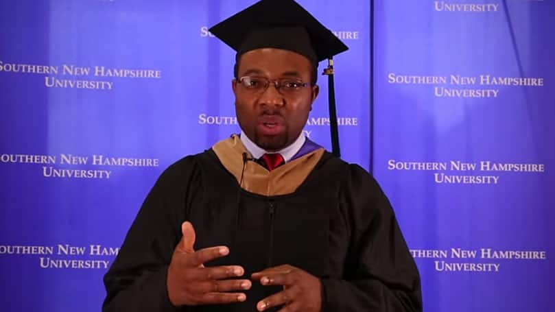SNHU MBA Marketing Student Perspective Story Nnamdi Ebere Alumni Testimonial Video