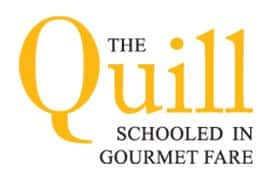 The Quill Hospitality Center Restaurant Schooled in Gourmet Fare Logo