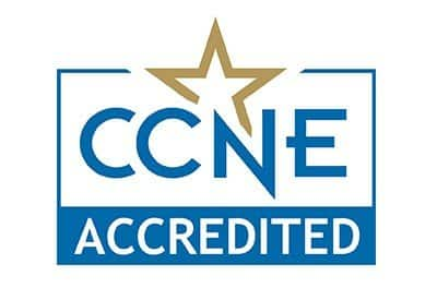 CCNE Accreditation Logo Nursing Programs