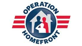 Military Partner and Sponsorship Operation Homefront Rail Image