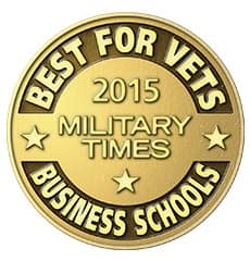 Best for Vets 2015 Military Times Business Schools