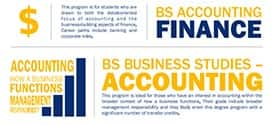 Which Accounting Program Makes Sense for You Infographic