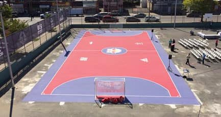 MLS New York Red Bulls Mini Pitch Twitter Image