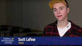 Scott LaFleur talks about his experiences as an SNHU Advantage student.