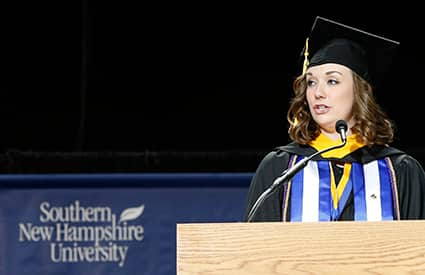 Commencement 2015 Kelley McDonough
