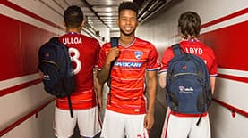 Major League Soccer, FC Dallas players and SNHU students